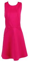 Ted Baker London Polyester Sleeveless Tea Dress Fuchsia 8 - $91.99