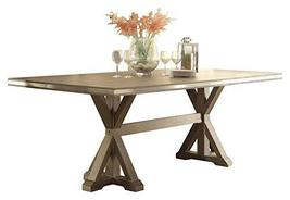 Beams Industrial 3PC Occasional Set Cocktail, 2 End Table in Rustic Brown - $1,110.19