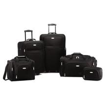 Samsonite Nobscot 5 Piece Set Luggage - Black - $202.00