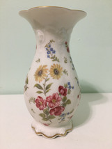 Beautiful Flowered Porselain Vase by Rosenthal Group - $24.74