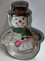 Wilton Holiday Snowman Cake Pan # 2105-803 ~ Circa 1989 ~ NEW Old Stock ~ - $19.75