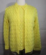 Vintage 1960's Montgomery Ward women's knit top cardigan made in Japan s... - $38.60