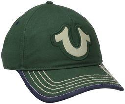 True Religion Men's Cotton HorseShoe Adjustable Baseball Trucker Hat Cap TR1989 image 8