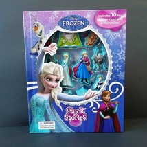 Disney Frozen Stuck on Stories Storybook & Character Figurines - $14.54