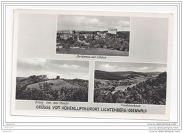 Germany Grusse vom Hohenluftkurort Lichtenberg Odenwald Vintage RP Postcard - $4.99