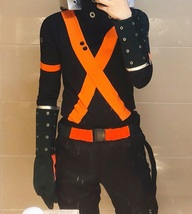 My Hero Academia Katsuki Bakugo Winter Hero Costume Cosplay Buy - $102.00