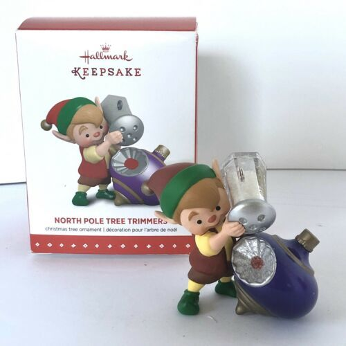 Hallmark Keepsake Ornament 3rd In The North Pole Tree Trimmers Series 2015 New