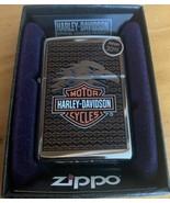 Zippo Harley Davidson Lighter Eagle Bar and Shield - $39.95