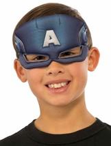 Captain America Eye Mask Marvel Superhero Halloween Child Costume Accessory - $10.17