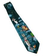 Looney Tunes Outer Space Bugs Bunny Daffy Taz Tweety Marvin Necktie Novelty - $17.00