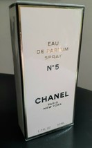CHANEL No 5 Paris 1.7 oz Eau De Parfum Spray NEW in Sealed Box 50ml - $74.20