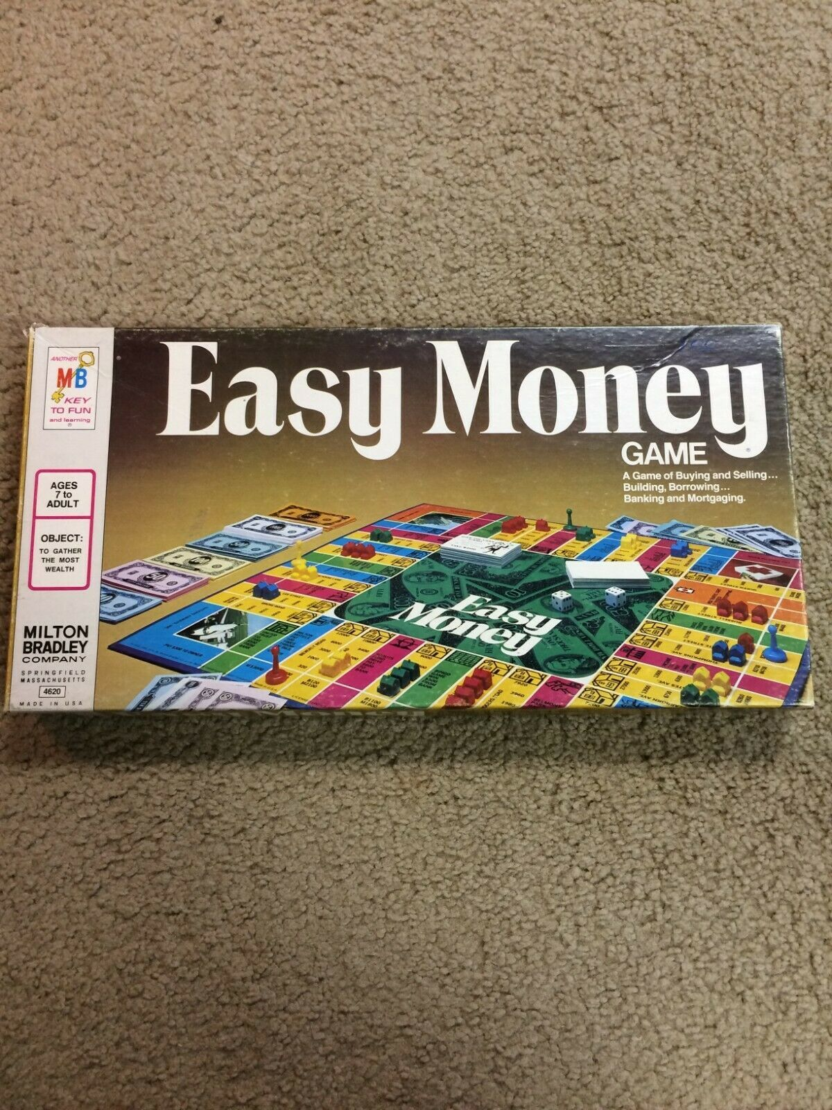 Vintage Easy Money Board Game!!! - $28.00