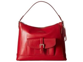 Coach Charlie Leather Hobo Red - £136.42 GBP