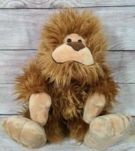 "Aurora Plush Bigfoot Stuffed Animal Sasquatch Brown 11"" 2018 - $14.54"