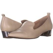Franco Sarto Vianna Loafers 897, Ivory Leather, 8.5 US / 38.5 EU - $23.99