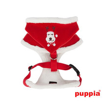 Rudolph Plush Choke-Free Fur Lined Hooded Halter Harness in Color Red - $38.98+
