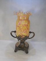 Antique Northwood Fenton Splatter Glass Celery Castor - $1,282.05