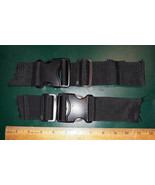 """21BB31 PAIR OF NYLON STRAP DISCONNECTS, 2"""" WIDE STRAP, VERY GOOD CONDITION - $8.82"""