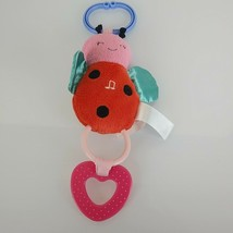 Carters Stuffed Plush Ring Link Clip On Baby Toy Ladybug Musical U R My ... - $29.69