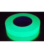 1 Inch Yellow UV Blacklight Reactive Fluorescent Gaffer Tape 1 Roll x 50... - $16.50
