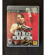 Red Dead Redemption - Sony Playstation 3, 2010 - PS3 Adventure Game - $9.79