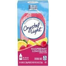 Crystal Light Raspberry Lemonade Drink Mix 60 On-The-Go Packets 6 Packs ... - $17.51