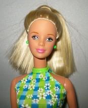 Pretty in Plaid Barbie Doll Blond Hair Mackie Face Original Outfit Cloth... - $12.86