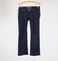 Dark rinse stretch cotton blend ROCK & REPUBLIC low-rise bootcut jeans 25 0 - $24.99