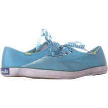 Keds 9813 Lace Up Fashion Sneakers 913, Turqouise, 6 US - $25.90