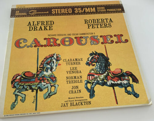 Primary image for CAROUSEL - STUDIO CAST LP Alfred Drake & Roberta Peters VINYL