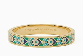 KATE SPADE NEW YORK FINE FEATHER MULTI HINGED IDIOM BANGLE, #WBRUD977 –NWT - $72.83