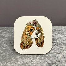 King Charles Coaster,Gift For Dog Lovers,Mothers Day Gifts,King Charles,Gifts - $6.80