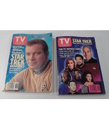 2 Collectible 1993 1994 Star Trek Memories & Next Generation TV Guide Ma... - $7.08
