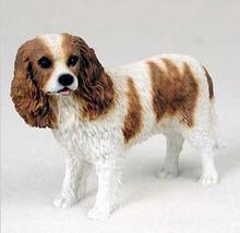 CAVALIER KING CHARLES SPANIEL DOG Figurine Statue Hand Painted Resin Gif... - $17.25