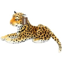 Jesonn Realistic Stuffed Animals Toy Spotted Leopard Plush for Boys' and... - $34.00