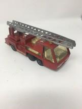 1972 K-9 Fire Tender Truck Matchbox Super Kings Leisney Vintage Toy - $6.26
