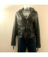 Abercrombie & Fitch Faux Leather Quilted Moto Jacket - XL - $250.00