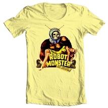 Robot Monster T-shirt retro movie science fiction retro 100% cotton tee shirt image 2