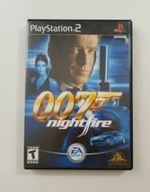 007 Nightfire PS2 Game 2002 EA Games  - $10.28 CAD
