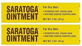 Saratoga Ointment 2 oz. Tube Pack of 2