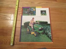 John Deere Tractors Mulching Systems Mowers Vintage Dealer sales brochure - $14.99