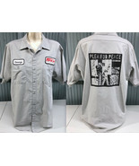 Operation Ivy Plea For Peace Pep Boys Punk Work Shirt XL George Cintas M... - $91.95