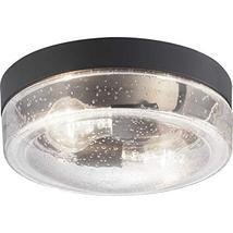 Progress Lighting P550042-031 Weldon Collection Two-Light Flush Mount, B... - £76.99 GBP