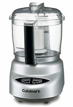 Food Processor 250 Watt Chopper Grinder 3 Cup Capacity w/ Spatula Set NEW - $69.06