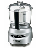 Food Processor 250 Watt Chopper Grinder 3 Cup Capacity w/ Spatula Set NEW - $69.06