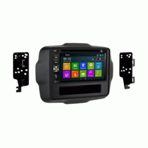 Android DVD GPS Navigation Multimedia Radio and Dash Kit for Jeep Renega... - $326.69