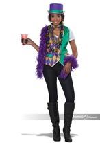 California Costumes Mardi Gras Vest Kit Adult Womens Halloween Costume 6... - $32.15
