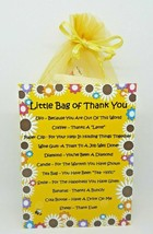 Little Bag of Thank you - A Unique Fun Novelty Gift To Say Thank You - $7.65
