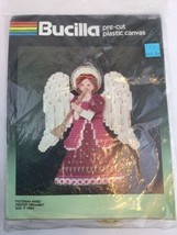 "Bucilla #61040 Victorian Angel Treetop Ornament 9"" High Pre-cut Plastic ... - $14.18"