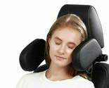 Car seat headrest neck support soft pillow adult child leather sleep kids Travel